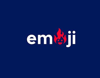 Happy fire emoji