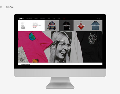 LAB Taipei   Fashion Web Design