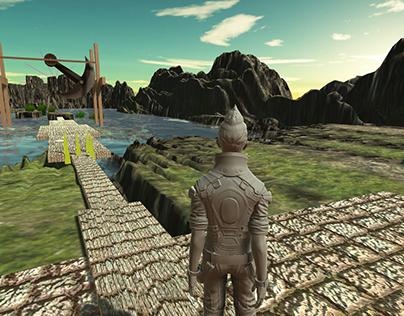 Infinite Runner Game Level