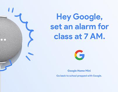 Google Hardware Back to School (Speculative Design)