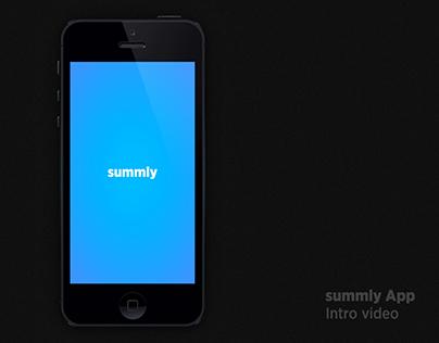 SUMMLY - App intro video