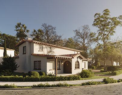 House in California