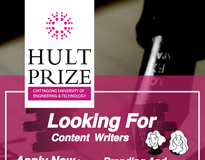 Flyer: Call for content Writers
