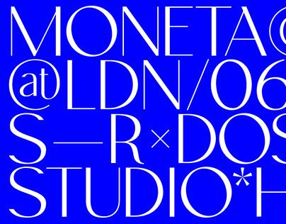 Moneta Sans Typeface