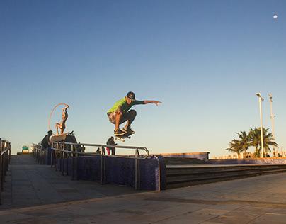 Skate-Vivência