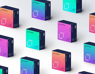 ProteinBox® - Packaging & Branding