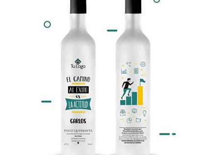 Botellas personalizadas corporativas