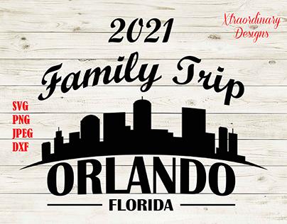 2021 Family Trip SVG