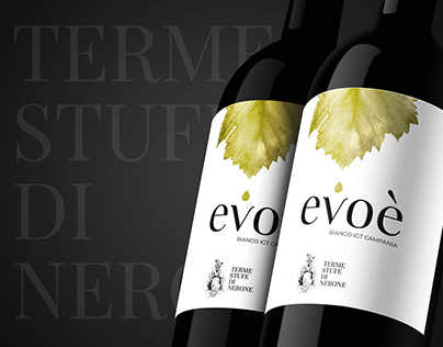 evoè - Wine Label