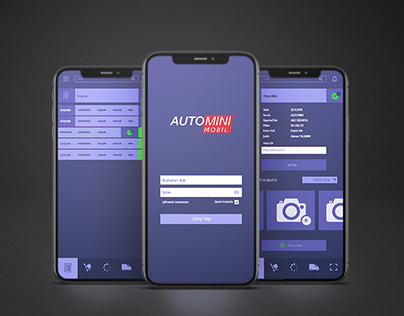 AutoMini UI/UX (Web&App)