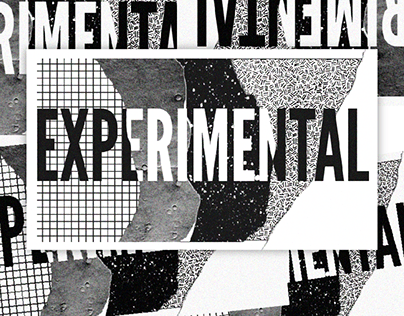 Experimental Records Branding Campaign