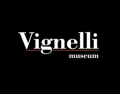 Vignelli museum Visual Identity