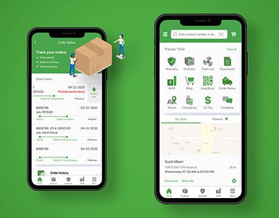 Contractor Assist   UI/UX 2020 app store previews