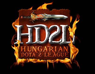Hungarian DOTA 2 League logo