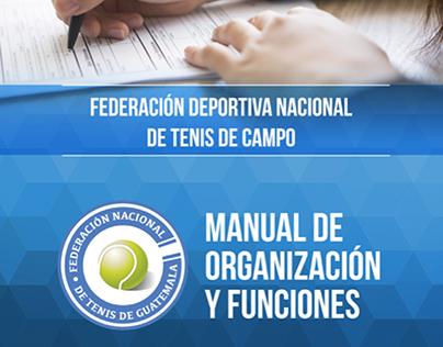 Diagramación Manual Federación de Tenis Guatemala