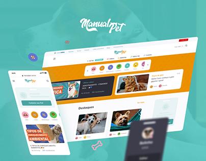 Manual Pet - Website Redesign / Front-end