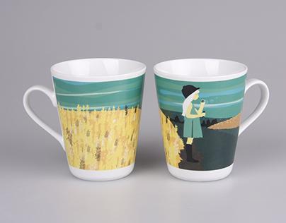 porcelain cup design