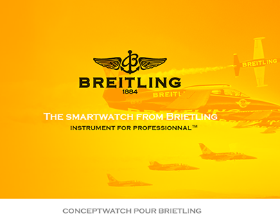 Brietling, concept watch