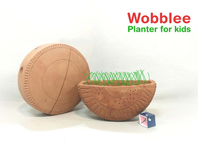 Wobblee: Planter for kids
