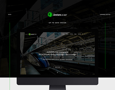 Inter Car // UX & Web design