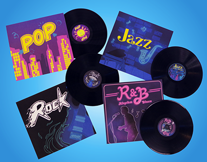 Musical Albums And Vinyl