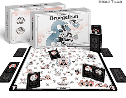 "Board game ""Bruegelism"""