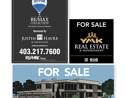 Realty Sign Design