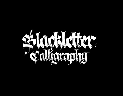 Blackletter Calligraphy Collection