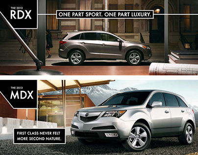 Digital Design for Local Acura Dealership