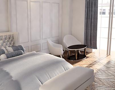 Hotel Room&Restaurant 3D Modelling/CGI