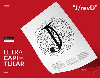 Letra Capitular J/revD
