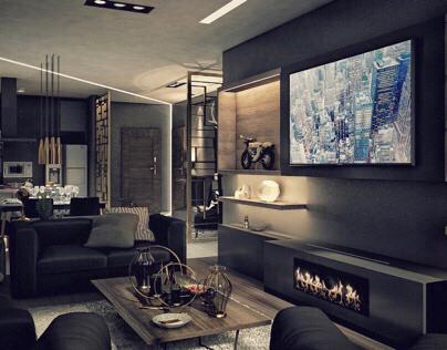 Waterway Apartment, Black Apartment