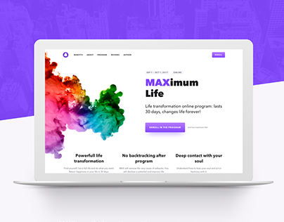 Web | MAXimum Life