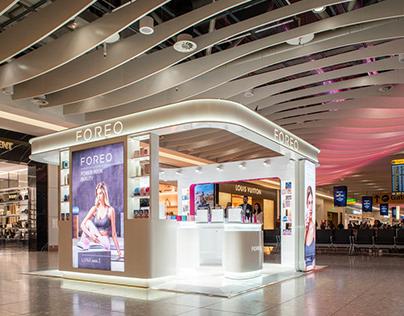 Heathrow Airport popup store