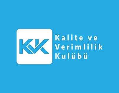 YTÜ Kalite ve Verimlilik Kulübü Branding