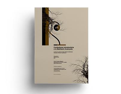 Poster by Xavier Esclusa / Executive Meditation