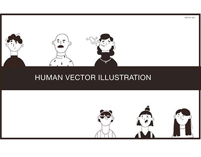 Human Vector Illustration
