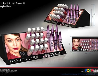 Maybelline Shelf Displays