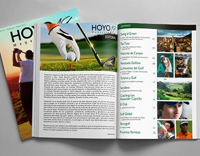 Revista Hoyo 19 / Hoyo 19 Magazine