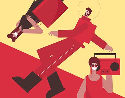 New RedBrown Illustration Pack