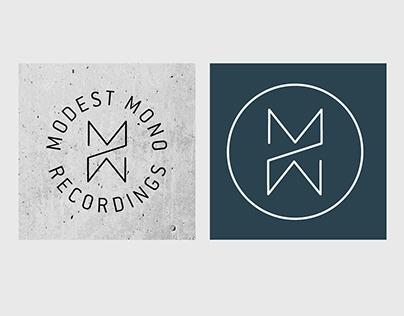 Modest Mono, record label logo