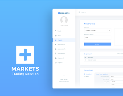UX/UI | MarketPlus - Client Dashboard