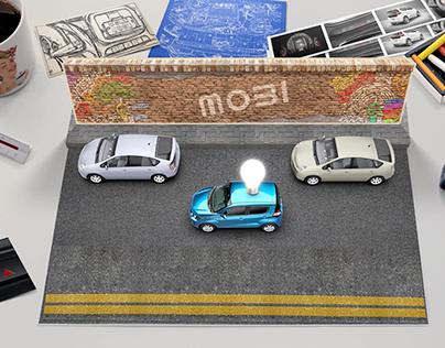 Fiat Mobi Stop Motion Animation