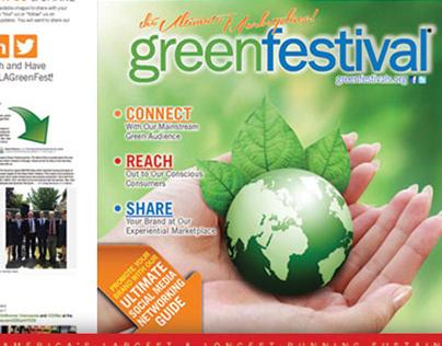 Green Festival Creative Direction & Marketing