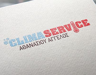 climaservice - logo design