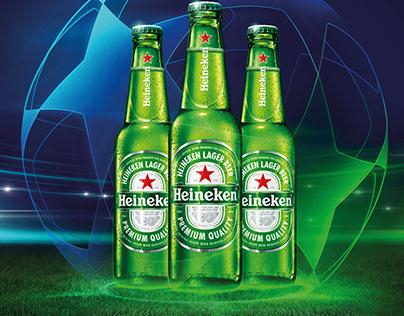 Heineken Drive-in for 2020's Champions Final