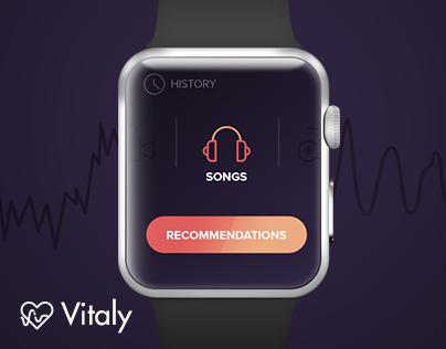 Vitaly - Apple watch app concept