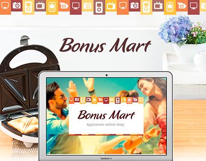 Bonus Mart — online store in Ukraine