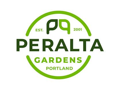 Peralta Gardens Rebrand