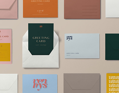 FREE | Greeting Card Mockup